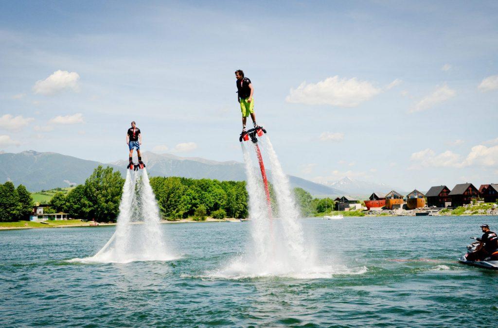 flyboard pozicovna vodne sporty liptovska mara marafun